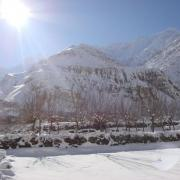 Shimshal in winter