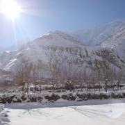 Shimshal in winter